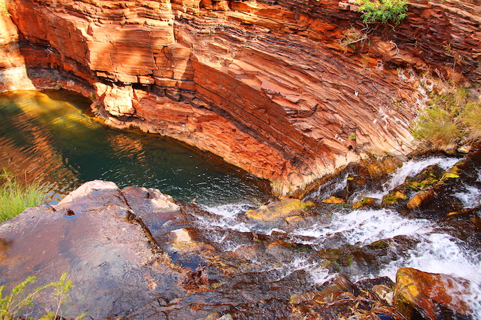 Fortescue Falls in Australia.shutterstock_313599755