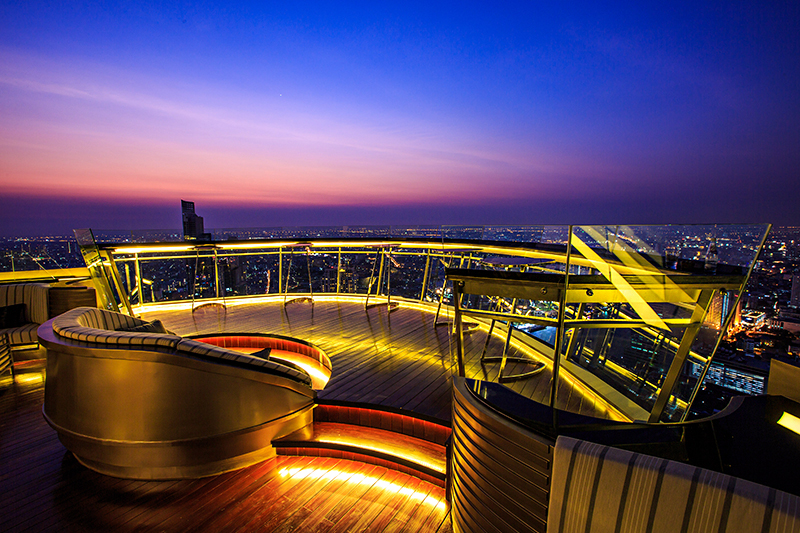 Rooftop Bar, Lebua State Tower Best hotel bars in Bangkok