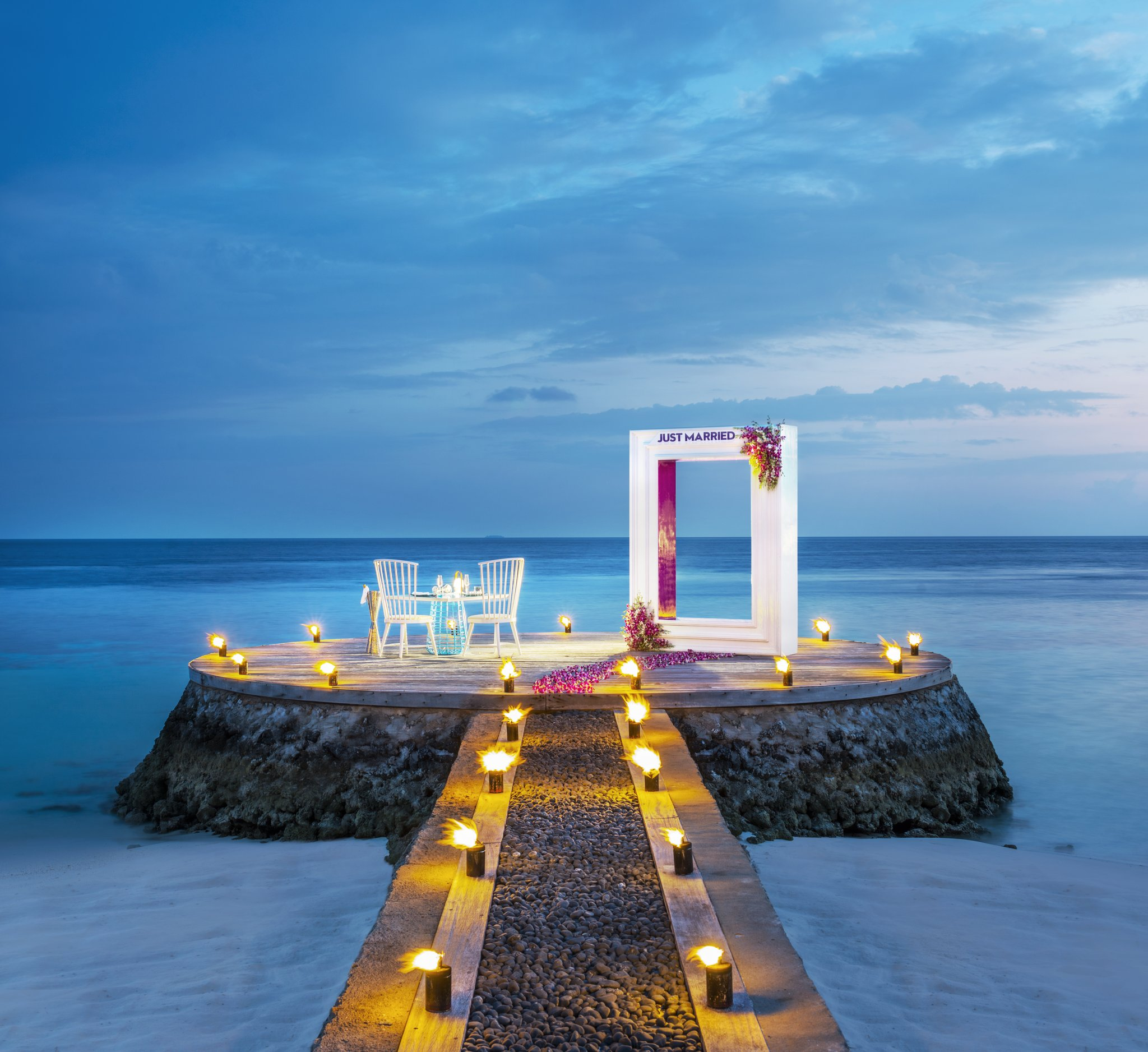 Dream wedding destination, the Maldives