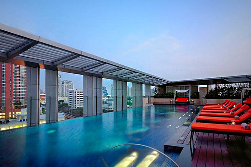 family friendly hotels in Bangkok - Marriott Hotel Sukhumvit