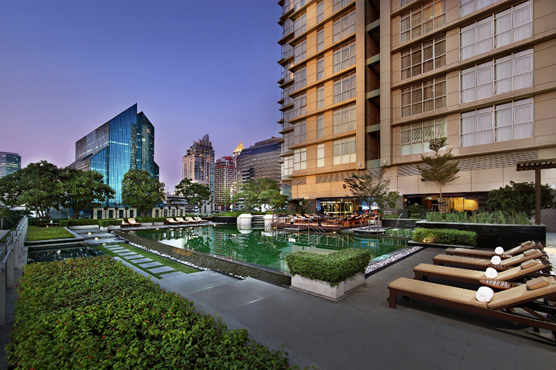 family friendly hotels in Bangkok: Sathorn Vista