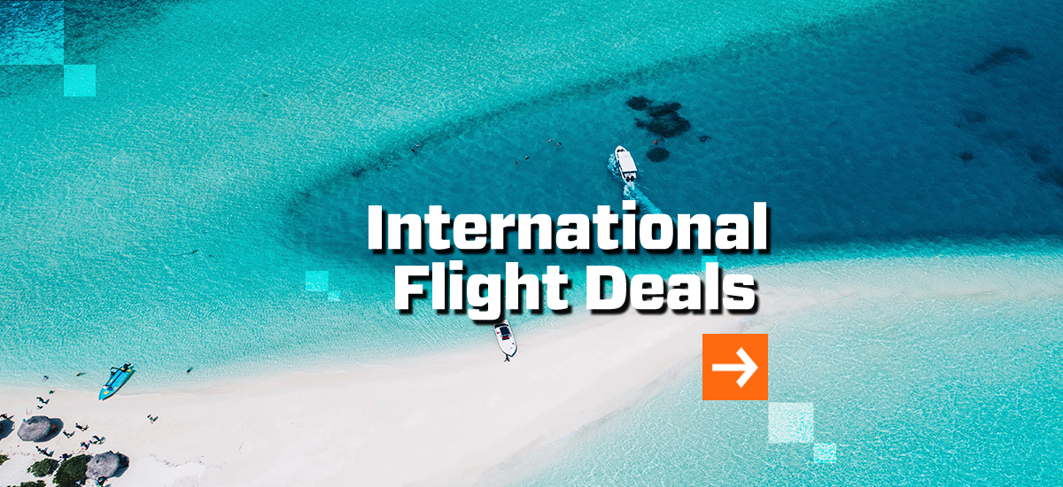 Cheap International Flights From Australia! Plan Your Dream Holiday & Save 40%