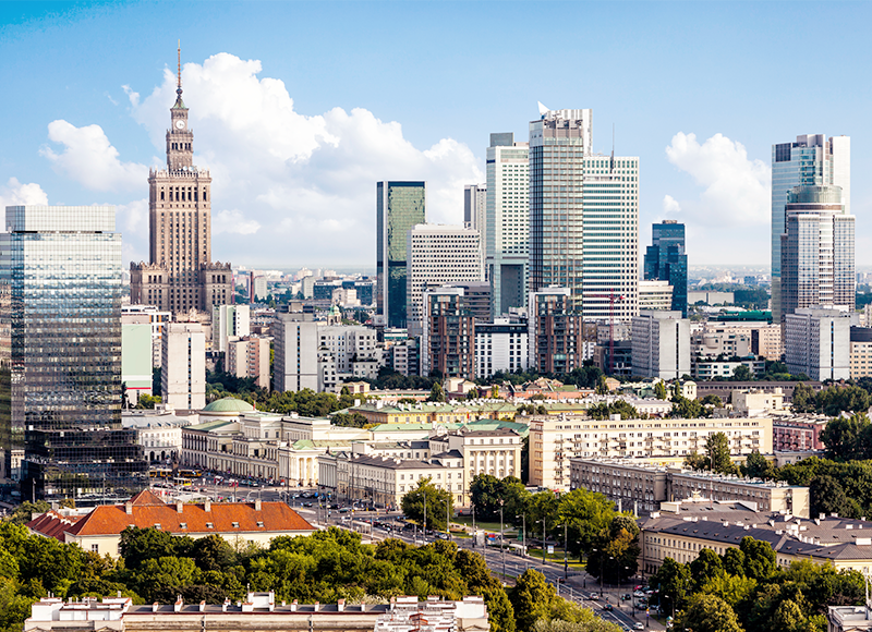 Winter holiday destinations for Australians | The Best, Cheapest & Trending - Warsaw, Poland