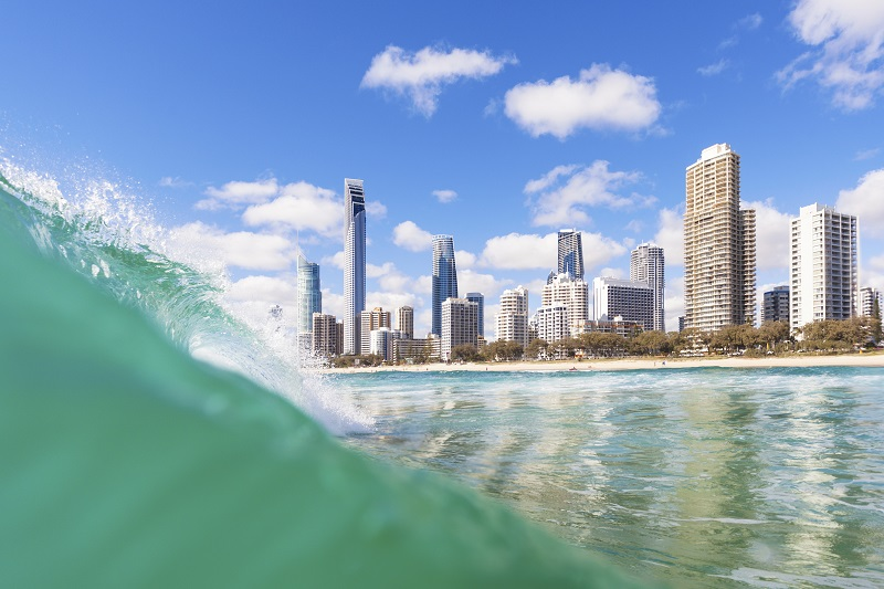 Waves at Surfers Paradise
