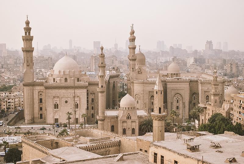 Cairo cityscape view