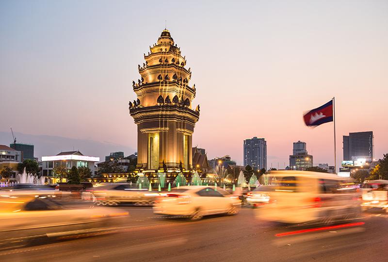 Top trending destination - Phnom Penh, Cambodia