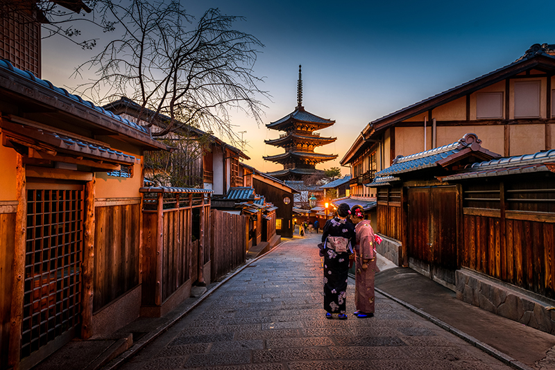 best places to travel in 2019: Kyoto