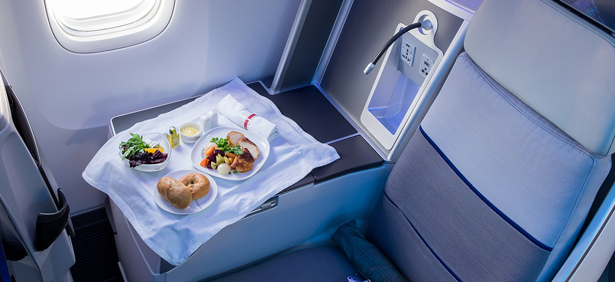 Inflight delights: Our top five airline meals you'll actually want to eat