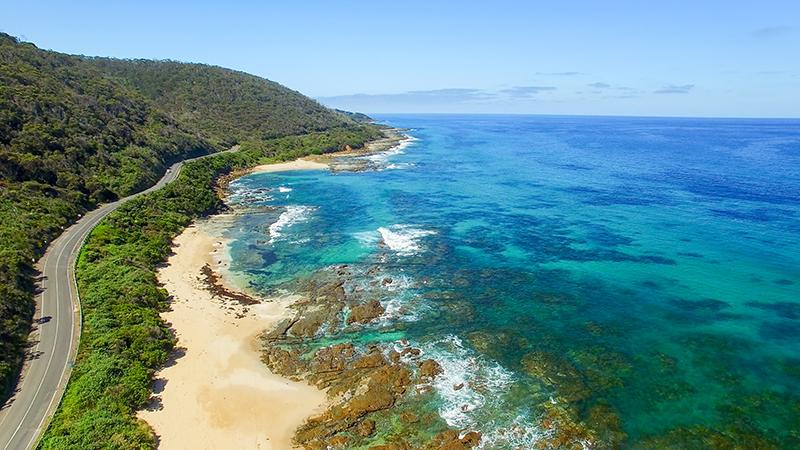 The Great Ocean Road coastline, Australia