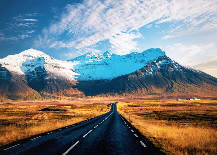 ring road, route 1 in Iceland