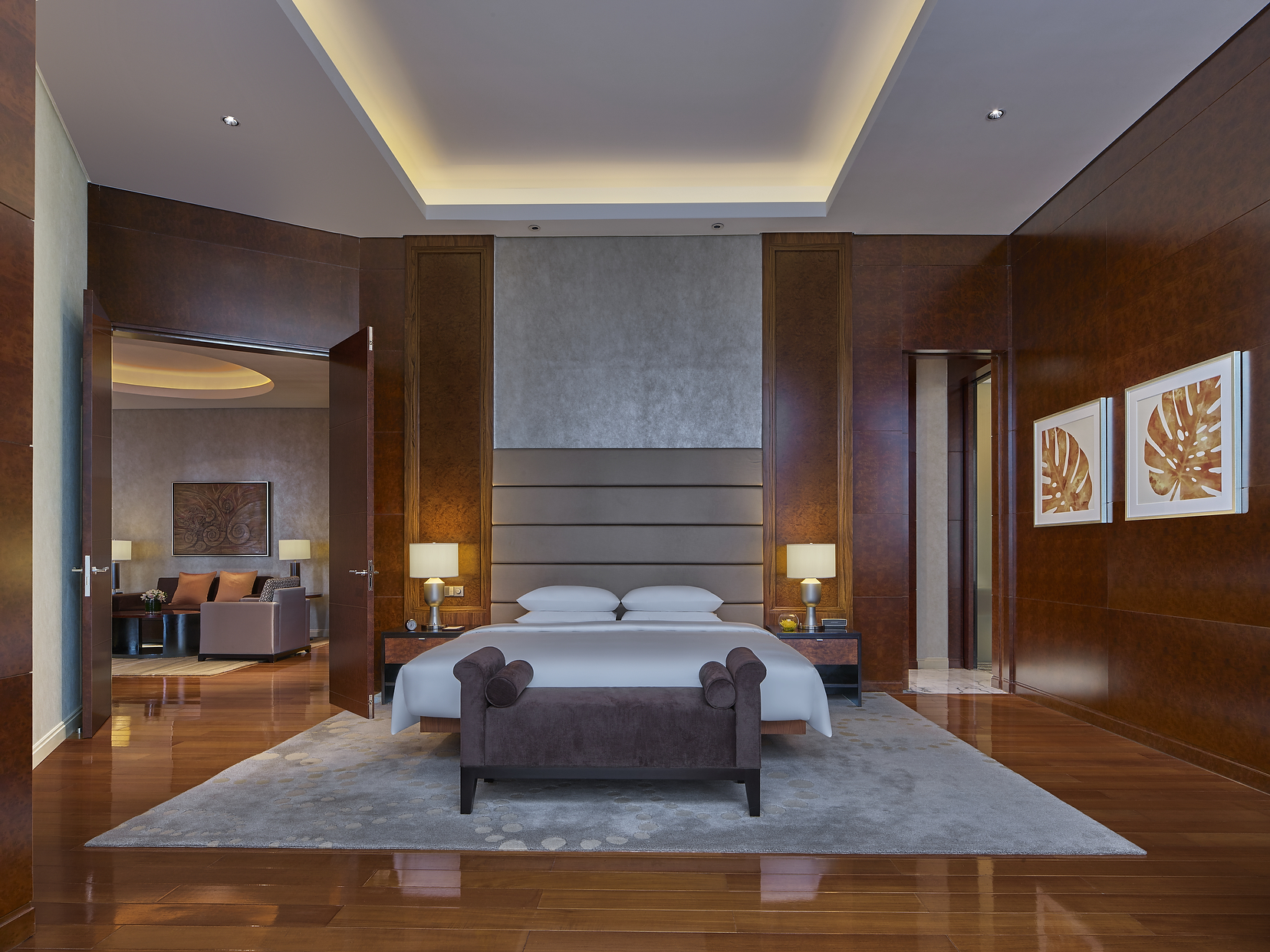 Grand Hyatt Kuala Lumpur bedroom