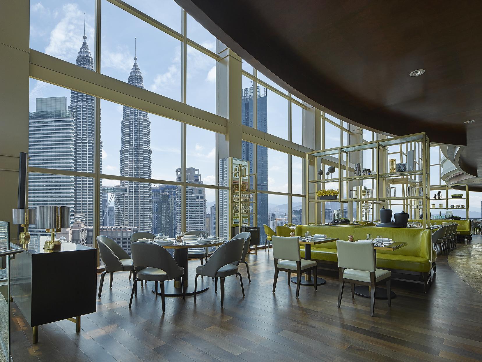Grand Hyatt Kuala Lumpur Petronas Towers view