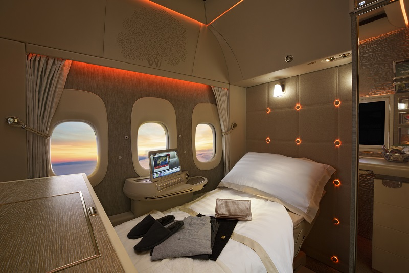 Travel like a crazy rich Asian - Emirates First Class