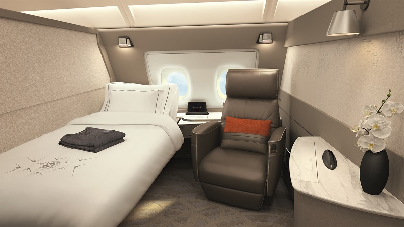 Travel like a crazy rich Asian - Singapore Airlines First Class