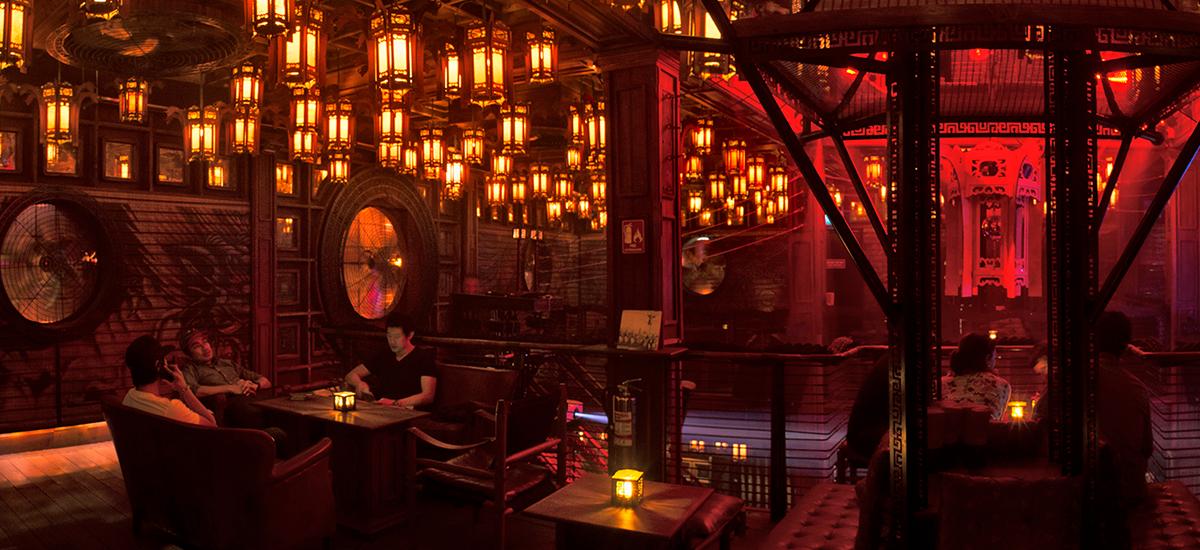 best speakeasy bars in Bangkok - Sing Sing Theatre