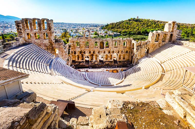 Cheap Holiday Destinations in Europe - the Acropolis, Athens, Greece