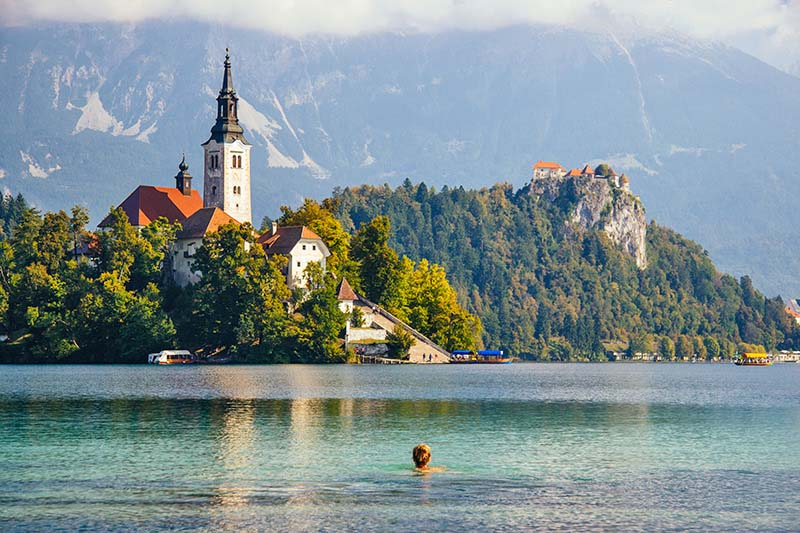 Cheap Holiday Destinations in Europe - Lake Bled, Slovenia