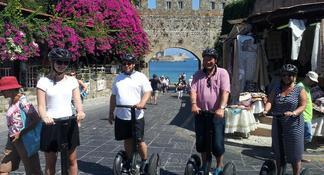Medieval Segway Tour in Rhodes