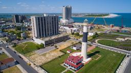 Atlantic City hotels near Monopoly Monument