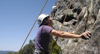Beginner Outdoor Rock Climbing