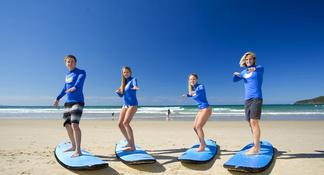 Surfers Paradise: 2-Hour Surf Lesson on the Gold Coast