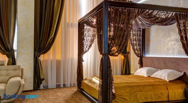 Khan-Chinar Hotel - Dnepropetrovsk - Bedroom
