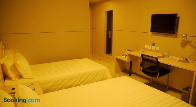 Jinjiang Inn Jining Guhuai Road - Jining - Bedroom