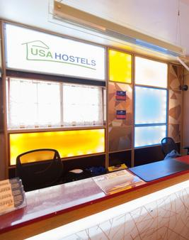 Usa Hostels Hollywood - Los Angeles - Front desk