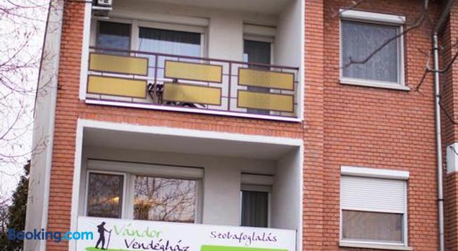 Vándor Vendégház - Szeged - Building