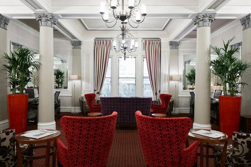 Club Quarters Hotel, Trafalgar Square - London - Living room