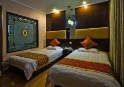Super 8 Hotel Yangzhou Slender West Lake Wen Chang - Yangzhou - Bedroom