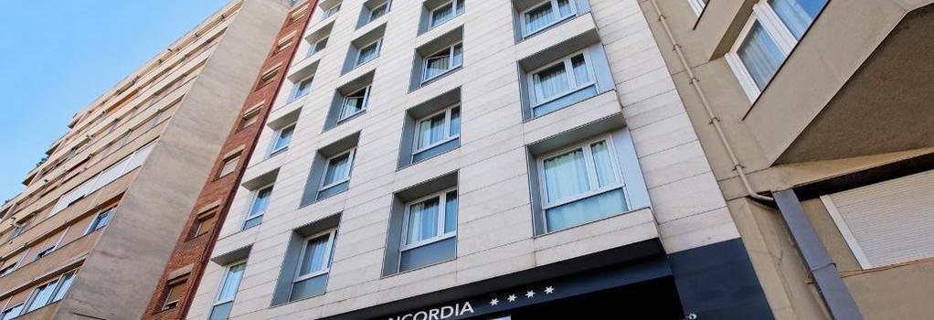 Silken Concordia Hotel - Barcelona - Building