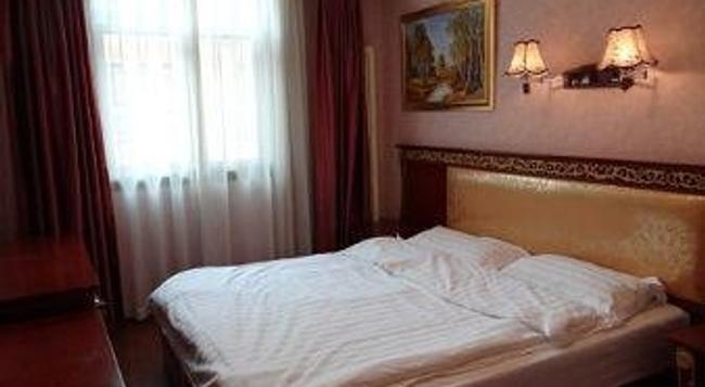 Super 8 Hotel Beijing Sanhuanxincheng Fengtai Subw - Beijing - Bedroom