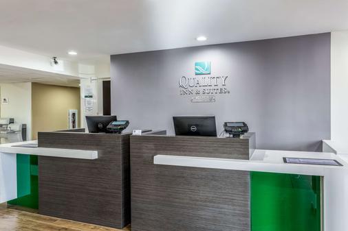 Quality Inn and Suites El Paso - El Paso - Front desk