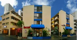 Waikiki Beachside Hostel - Honolulu - Building