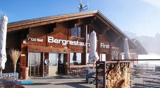 Berggasthaus First - Grindelwald - Building