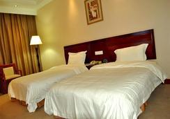 Greentree Inn Zhejiang Zhoushan Xincheng Business Hotel - Zhoushan - Bedroom