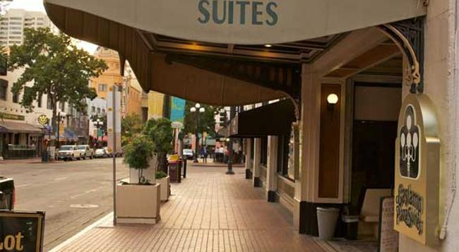 Gaslamp Plaza Suites - San Diego - Building