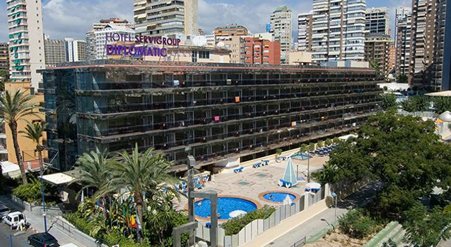 Hotel Servigroup Diplomatic - Benidorm - Building