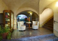 Hotel Elite - Prague - Lobby