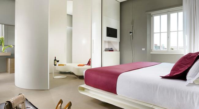 Palazzo Montemartini - Rome - Bedroom