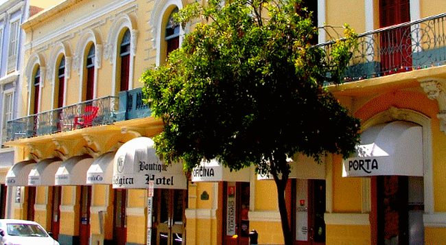 Boutique Hotel Belgica - Ponce - Building
