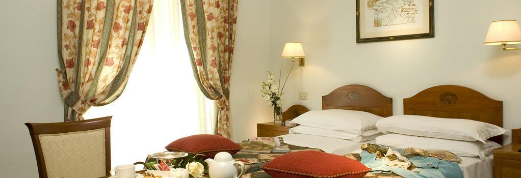 Hotel Aberdeen - Rome - Bedroom