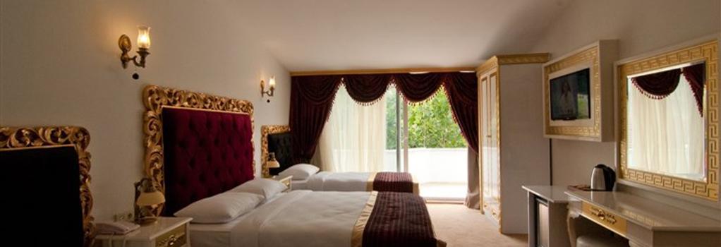 Vali Konak Hotel - Istanbul - Bedroom