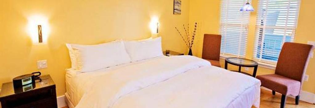 Pacific Blue Inn - Santa Cruz - Bedroom