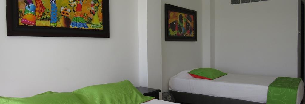Hotel West California - Armenia - Bedroom