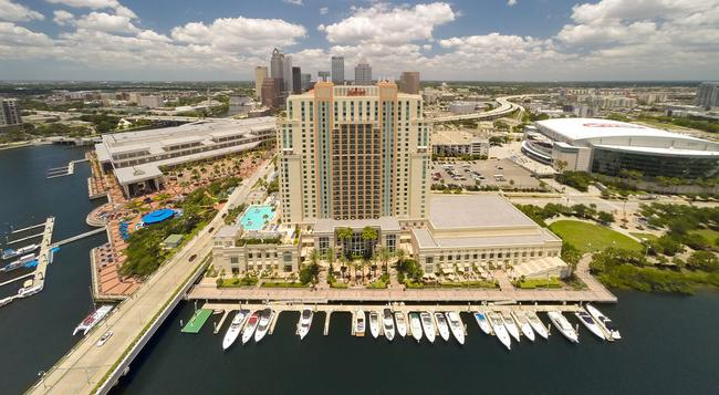 Tampa Marriott Waterside Hotel and Marina - Tampa - Building