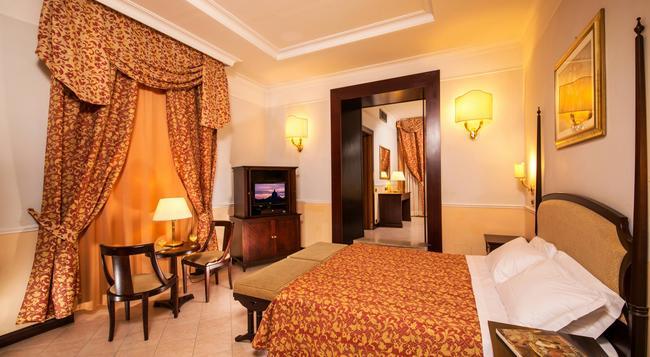 Hotel Nizza Roma - Rome - Bedroom