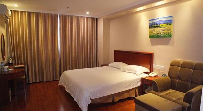 Greentree Jiangsu Xuzhou High Speed Railway Zhangqian Square Business Hotel - Xuzhou - Bedroom