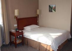 Greentree Inn Yangzhou Plaza Hotel - Yangzhou - Bedroom